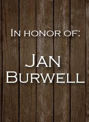 Jan Burwell
