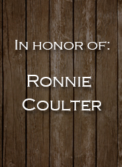 Ronnie Coulter