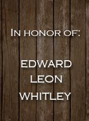 Edward Leon Whitley
